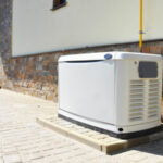 Whole house generator installation and safety